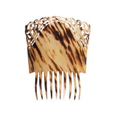 Celluloid Hair Mantilla Comb