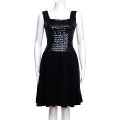 1960's Sequin Cocktail Dress