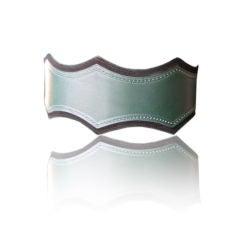 AZZEDINE ALAIA Vintage Green Leather Belt