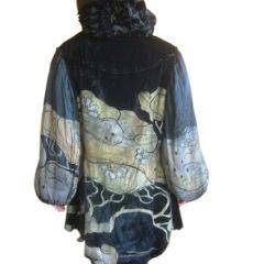 Monaci Maria Gallenga Amazing 1920s Velvet Jacket