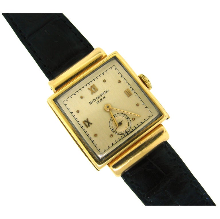 vintage patek philippe yellow gold s at 1stdibs
