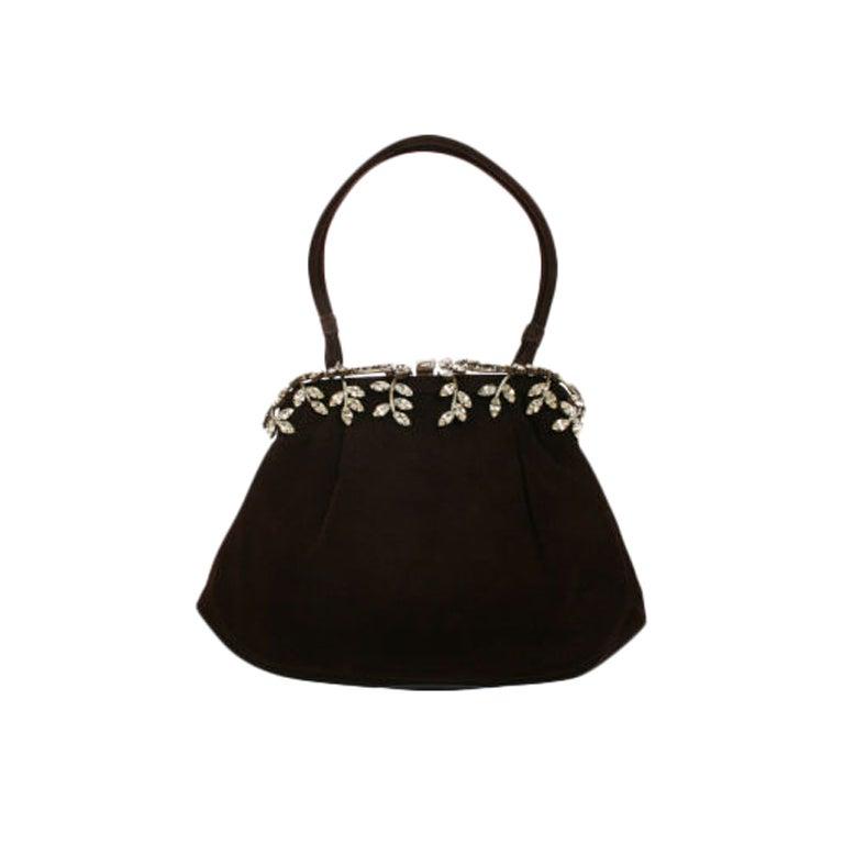 Jeweled Rhinestoned Koret Handbag At 1stdibs