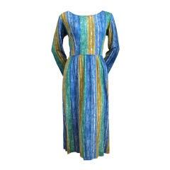 1960's EMILIO PUCCI silk jersey dress