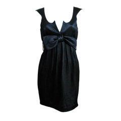 THIERRY MUGLER black mini dress