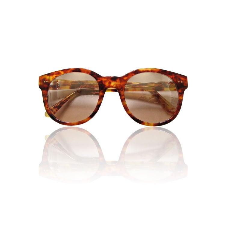 LANVIN tortoise sunglasses 1