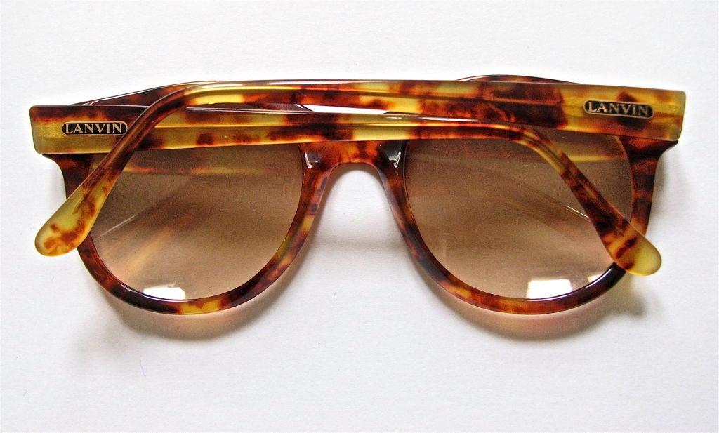 LANVIN tortoise sunglasses 2