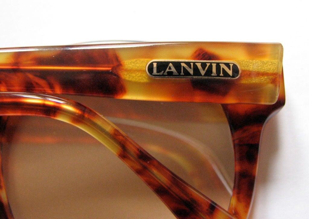 LANVIN tortoise sunglasses 3