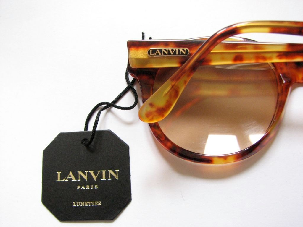 LANVIN tortoise sunglasses 4