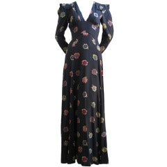 OSSIE CLARK dress with fabric by CELIA BIRTWELL