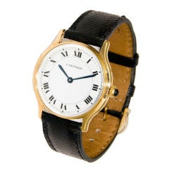 Cartier Paris 18K Wrist Watch