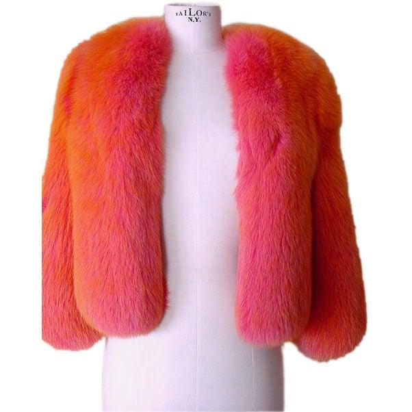 DOLCE&GABBANA 3/4 Sleeve FOX Irredescent Jacket 3
