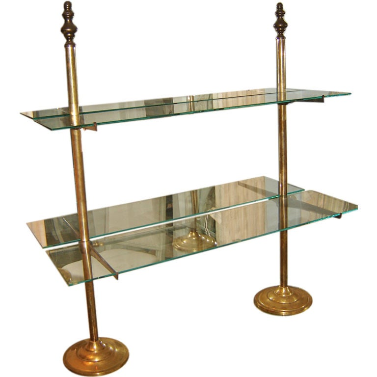 French Brass Patisserie Stand At 1stdibs