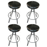Fredrick Weinberg Swivel Bar Stools