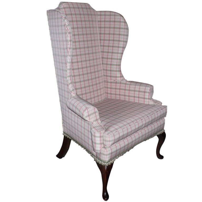 Wing Chair at 1stdibs