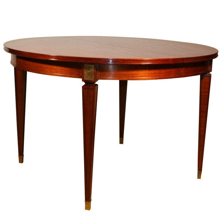 1940 39 s mahogany dining table at 1stdibs for 1940s furniture design