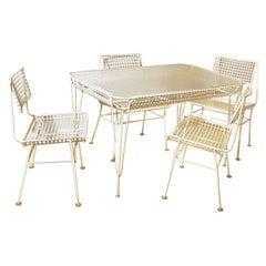 Mid-Century Terrace Dining Set