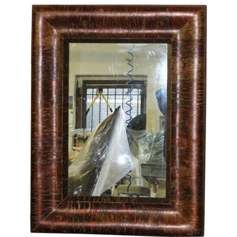Pair of large unusual red birch framed mirrors for sale at - Unusual large wall mirrors ...