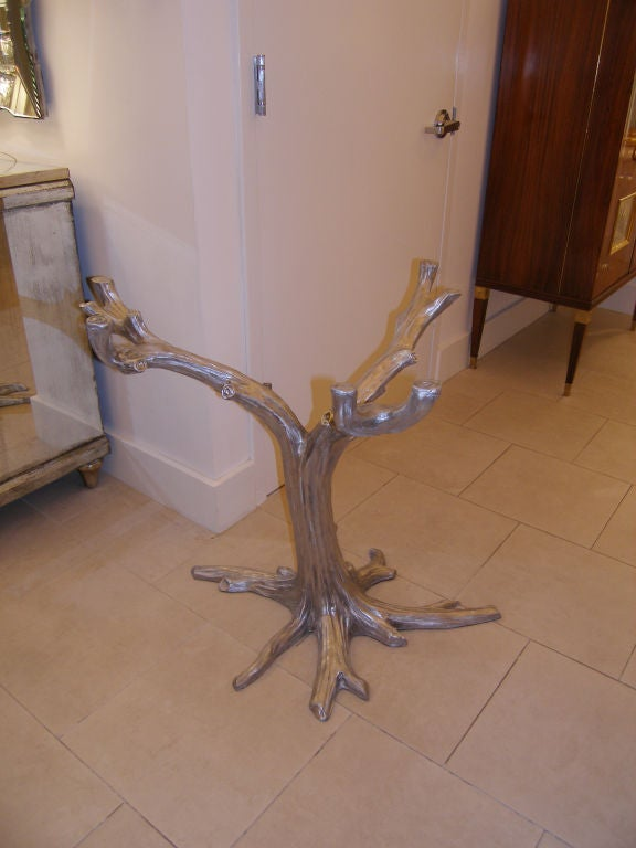 Cast Aluminium Tree Table Base 3