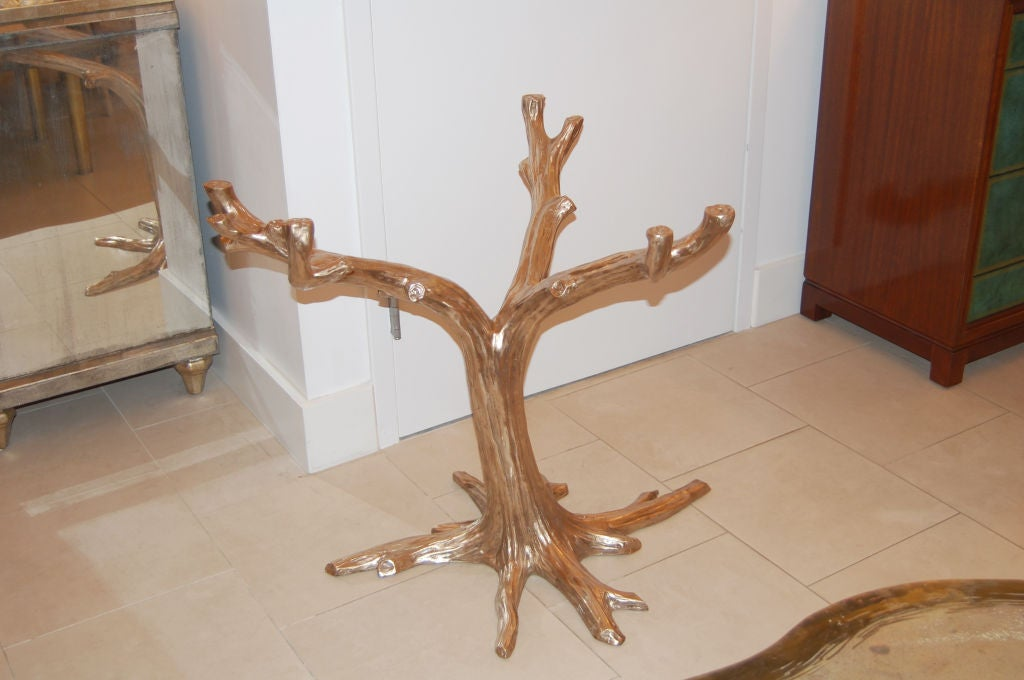Cast Bronze Tree Table Base At 1stdibs