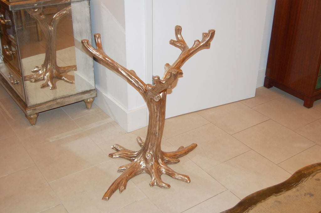 Cast Bronze Tree Table Base 3