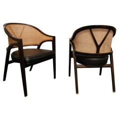 Pair of Lounge Chairs Model No.5957 by Edward Wormley