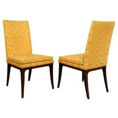 Set of 8 Elegant Dining Chairs Model No. 1243 by Harvey Probber