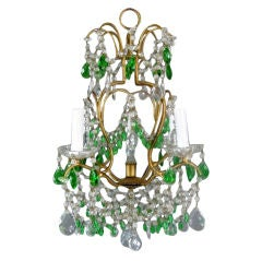 Italian Green Crystral Chandelier