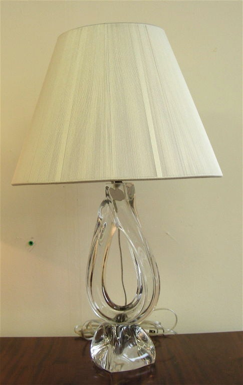 Daum table lamp. Located in NY 