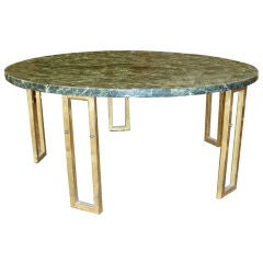 Marble Coffee Table in the Manner of Jean Royère