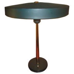 Green Louis Kalff Table Lamp for Philips