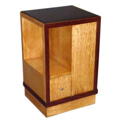 French Art Deco Side Table or Nightstand