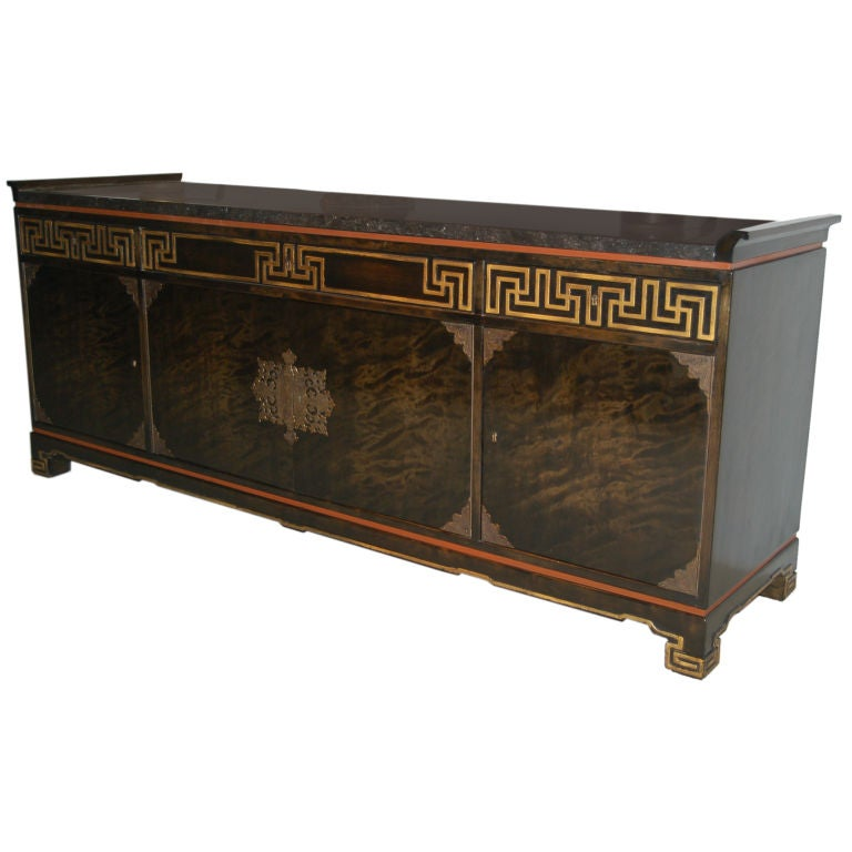sideboard by otto schultz at 1stdibs. Black Bedroom Furniture Sets. Home Design Ideas