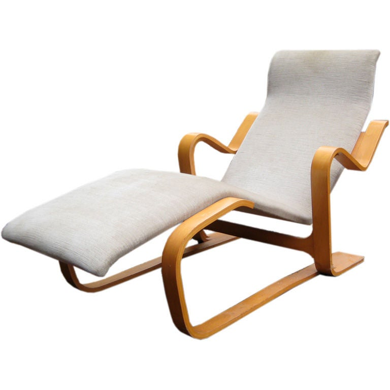 classic marcel breuer chaise at 1stdibs. Black Bedroom Furniture Sets. Home Design Ideas