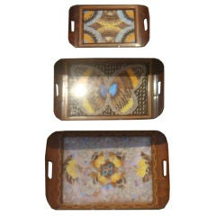 Three Butterfly Trays