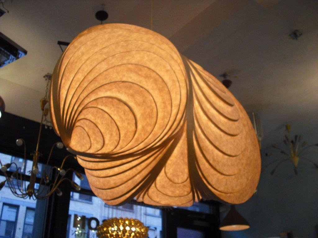 American Grand Stephen White Light Sculpture Chandelier For Sale