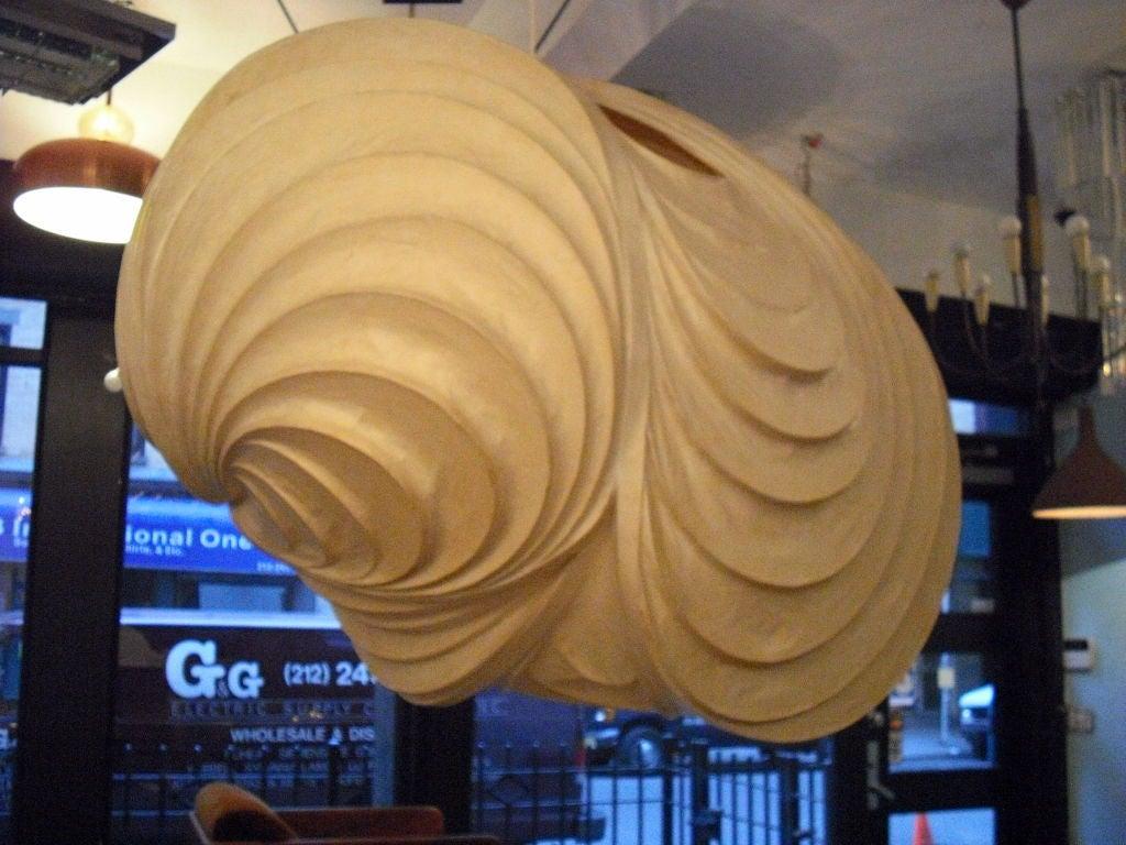 Grand Stephen White Light Sculpture Chandelier For Sale 5