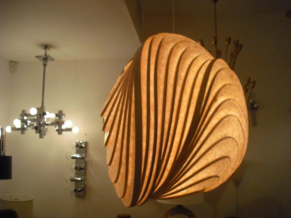 Grand Stephen White Light Sculpture Chandelier 5