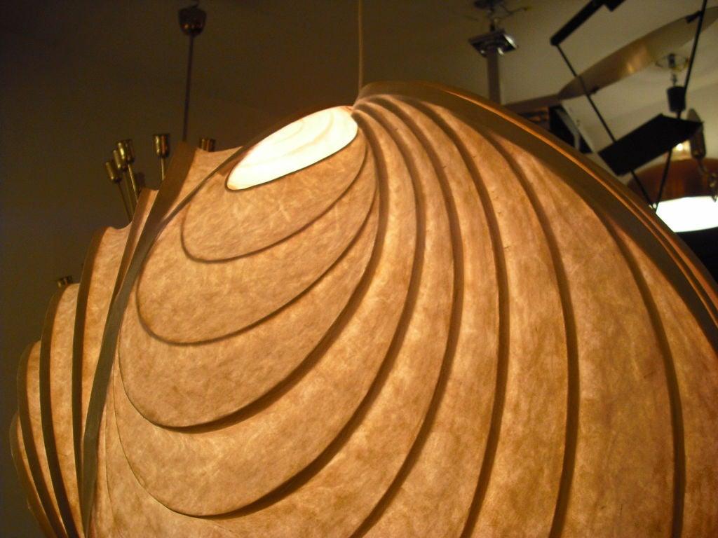 20th Century Grand Stephen White Light Sculpture Chandelier For Sale