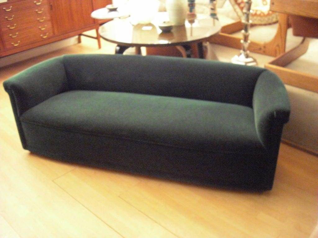 ward bennett low moderne sofa at 1stdibs. Black Bedroom Furniture Sets. Home Design Ideas