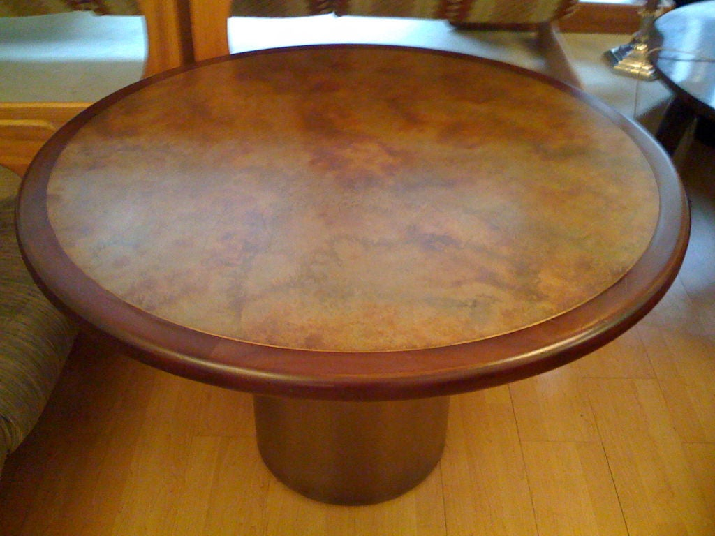Harry Lunstead Copper Dining Table 3