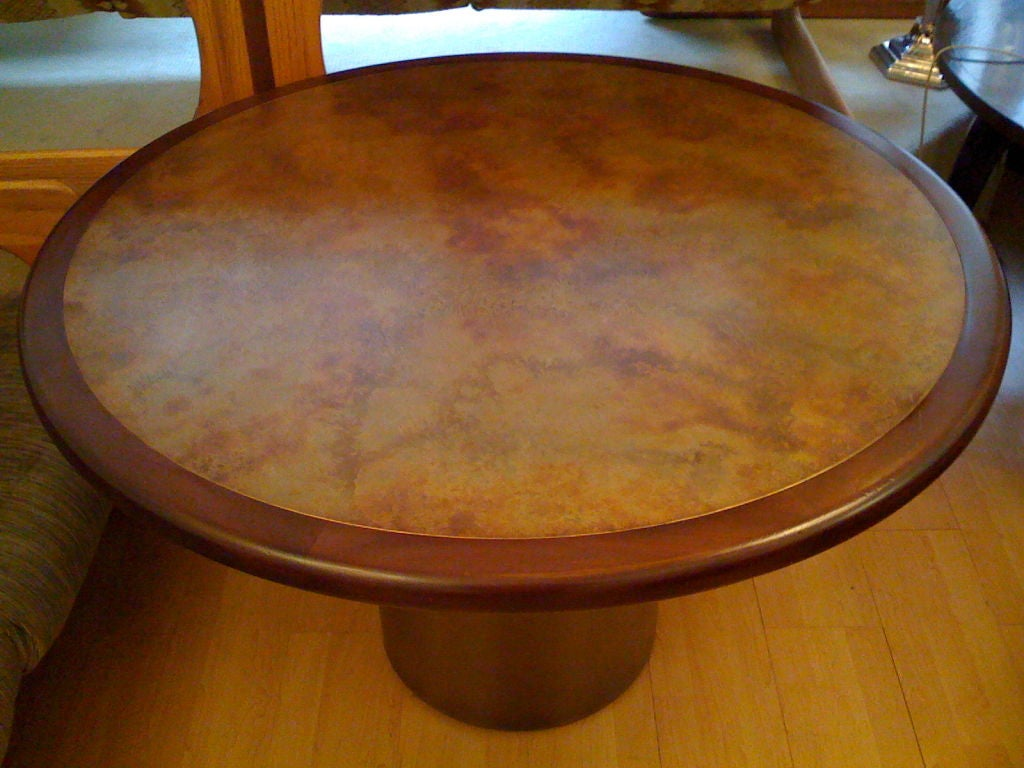 Harry Lunstead Copper Dining Table 4