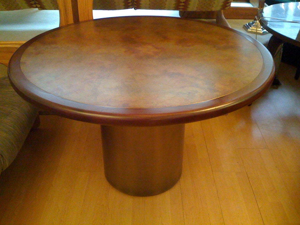 Harry Lunstead Copper Dining Table 5