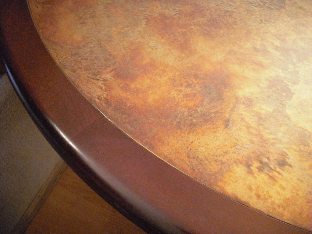 Harry Lunstead Copper Dining Table 9