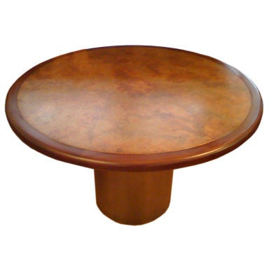 Harry Lunstead Copper Dining Table