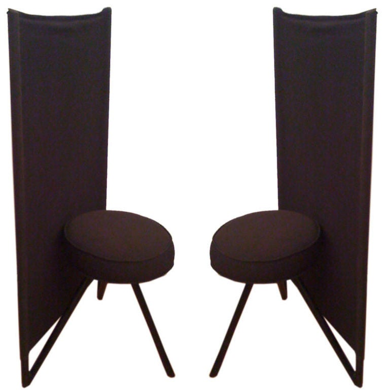 Pair Of Philippe Starck MISS WIRT Chairs For Sale At 1stdibs