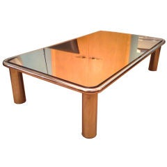 Mario Bellini 70's Mirrored Coffee Table