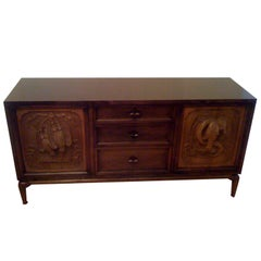 Monteverdi-Young Carved Sideboard