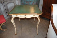 Belle Epoch painted Game Table image 3