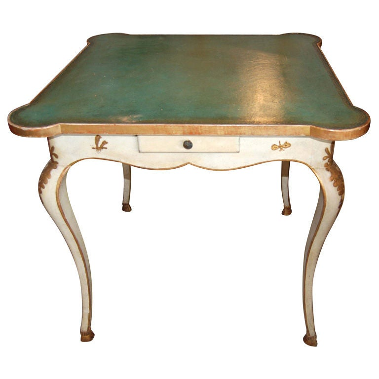 Belle Epoch painted Game Table