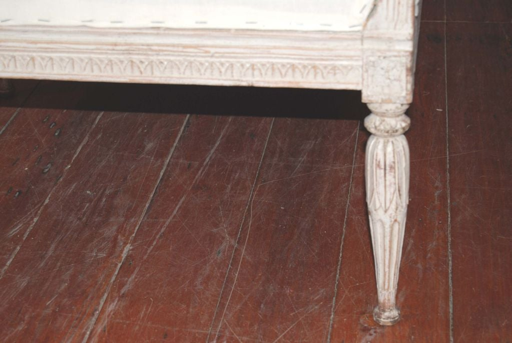 19th Century, Swedish Bench In Good Condition For Sale In New Orleans, LA